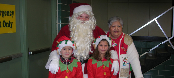 Save the Date: Santa Comes to Town 2015